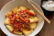 下饭低脂!浇汁黄金老豆腐的做法
