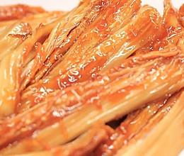 豆黄金豆厨房 | 拔丝鲜腐竹你吃过吗,挑战味蕾?的做法
