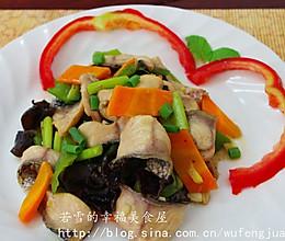 黑鱼最鲜嫩最过瘾的吃法——滑炒黑鱼片的做法