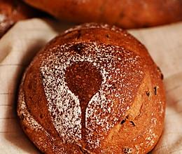 全麦桂圆红酒软欧#松下面包机#的做法