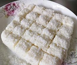 椰蓉白玉糕的做法