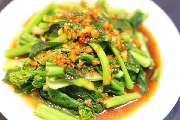 白灼|广东菜心的做法