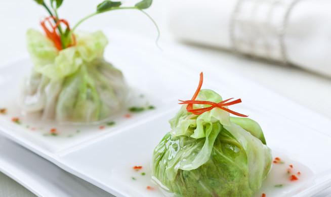 拉歌蒂尼菜谱:翡翠菜包