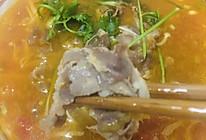 #舌尖上的端午#美味的金针菇番茄肥牛汤的做法