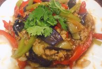 #下饭红烧菜#红烧肉沫茄子的做法