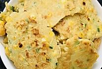 土豆玉米鸡蛋煎饼的做法