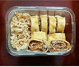 美味豆腐牛肉卷的做法