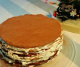 可可千层蛋糕(6寸)的做法