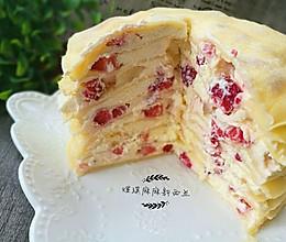 草莓千层糕的做法