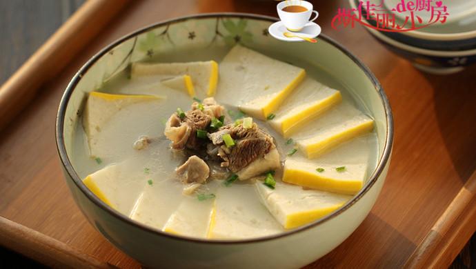 羊排鱼糕汤