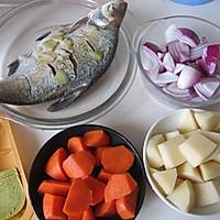 咖喱鳊鱼的做法图解1