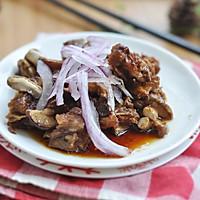 香菇烩排骨#美的微波炉菜谱#