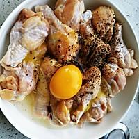 韩式蒜香蜜汁炸鸡的做法图解2