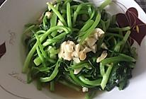 蒜蓉小油菜的做法