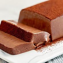#秋天怎么吃#巧克力慕斯砖|细腻润滑
