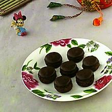 巧克力马卡龙#美的FUN烤箱,焙有FUN儿#