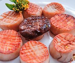 营养美味 香煎杏鲍菇的做法