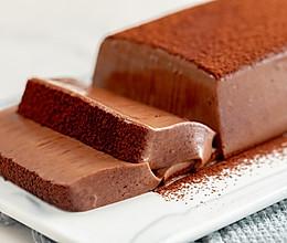 #秋天怎么吃#巧克力慕斯砖|细腻润滑的做法