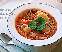 冬阴功汤#憋在家里吃什么#的做法