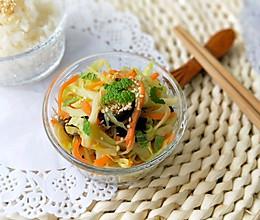 薄荷拌彩蔬(减肥和三高首选春季美食)的做法
