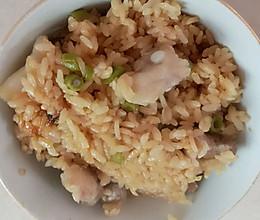 咸肉肛豆饭的做法