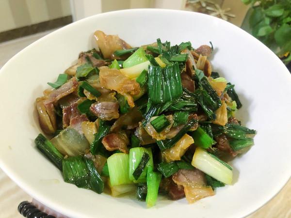 大蒜炒腊肉(含腊肉做法)