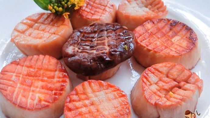 营养美味 香煎杏鲍菇