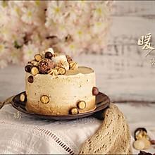 秋日花生奶油蛋糕#暖色秋季#