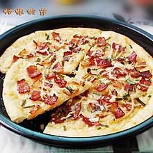土豆培根披萨