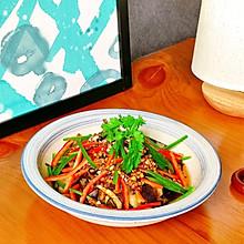 清凉夏日必不可少的凉拌菜『拌花菜』