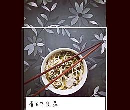 酸菜面(简单加餐赶时间首选)好吃的做法