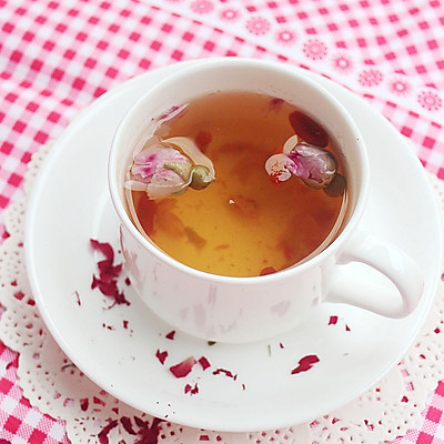 养生玫瑰花茶-冬季暖身