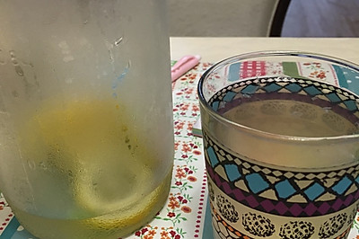 【糖果家的后厨房】美容养颜沁爽柠檬饮