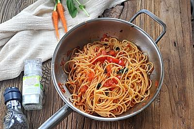 经典番茄意面--#德国MIJI爱心菜谱#