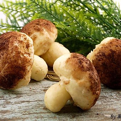 豆浆蘑菇包(豆沙馅)