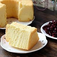 #长帝空气烤箱CRWF42NE试用#-果粒橙戚风蛋糕