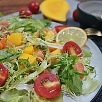 三文鱼蔬果沙拉的做法图解8