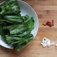 #花10分钟,做一道菜!#素炒油麦菜的做法图解2