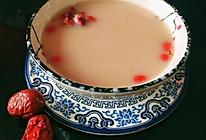 #轻饮蔓生活#美国蔓越莓玫瑰红枣豆浆的做法