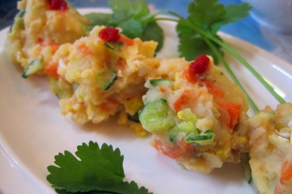 青瓜土豆沙律的做法