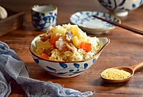 土豆腊肠焖饭,连吃两碗才过瘾#春季减肥,边吃边瘦#的做法
