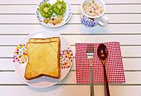 糖宝早餐之砂糖黄油土司的做法