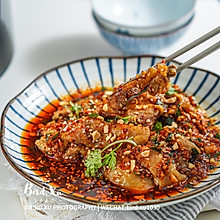 快手无水料理--口水鸡(高压锅版)