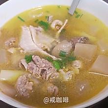 开胃的酸萝卜老鸭汤