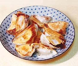 快手锅烙  10分钟拯救速冻饺子的做法