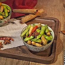 卤花生+卤毛豆 #食力对决#