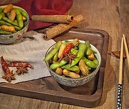 卤花生+卤毛豆 #食力对决#的做法