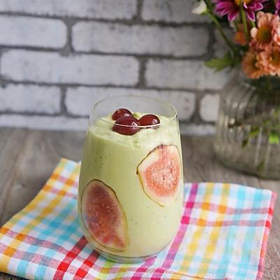 牛油果苹果奶昔#爱的暖胃季--美的破壁料理机