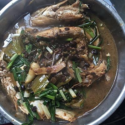 豆鼓酸菜鱼