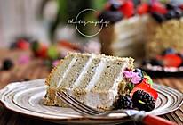 黑芝麻戚风蛋糕#我的烘焙不将就#的做法